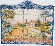 Tile Murals - Country Living