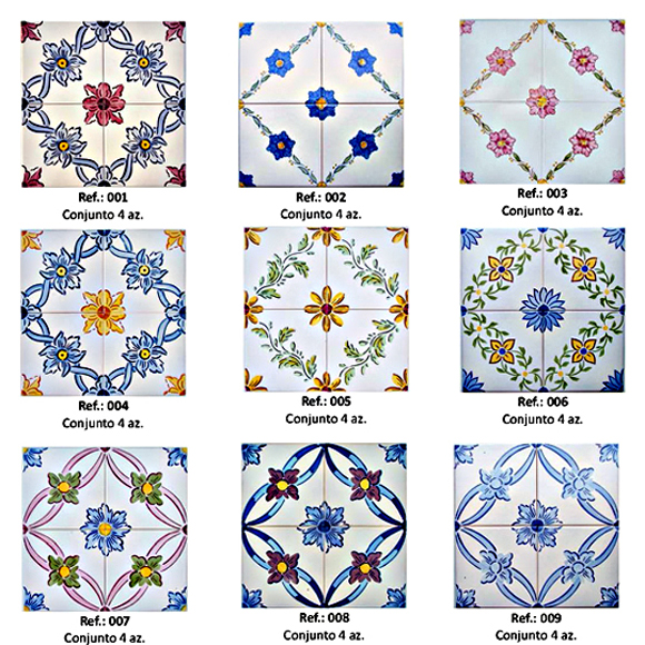 Portuguese Tiles and Mosaics - Traditional Accent Tiles