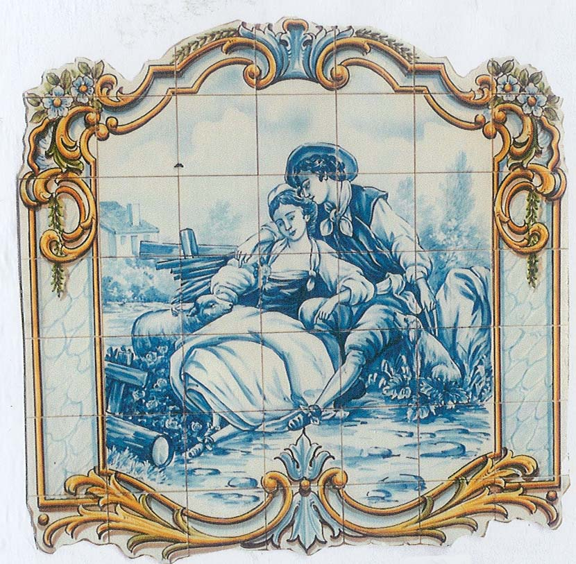 Portuguese Tiles and Murals - Renaissance and Medieval Themes