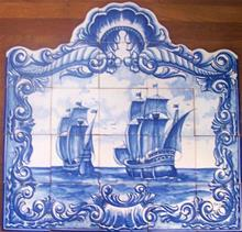 Portuguese Tiles and Murals - Seascapes and Maritimes